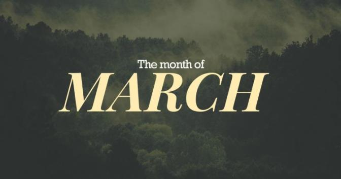 March × February Recap