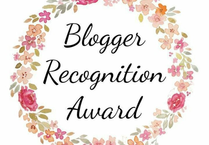I got a Blogger Award